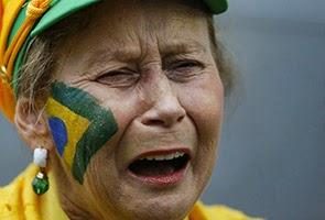 Brazil Di Malukan Jerman Piala Dunia 2014