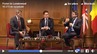 VIDEO: Dezbatere Ghiță Mocan și Mihai Neamțu la Londra