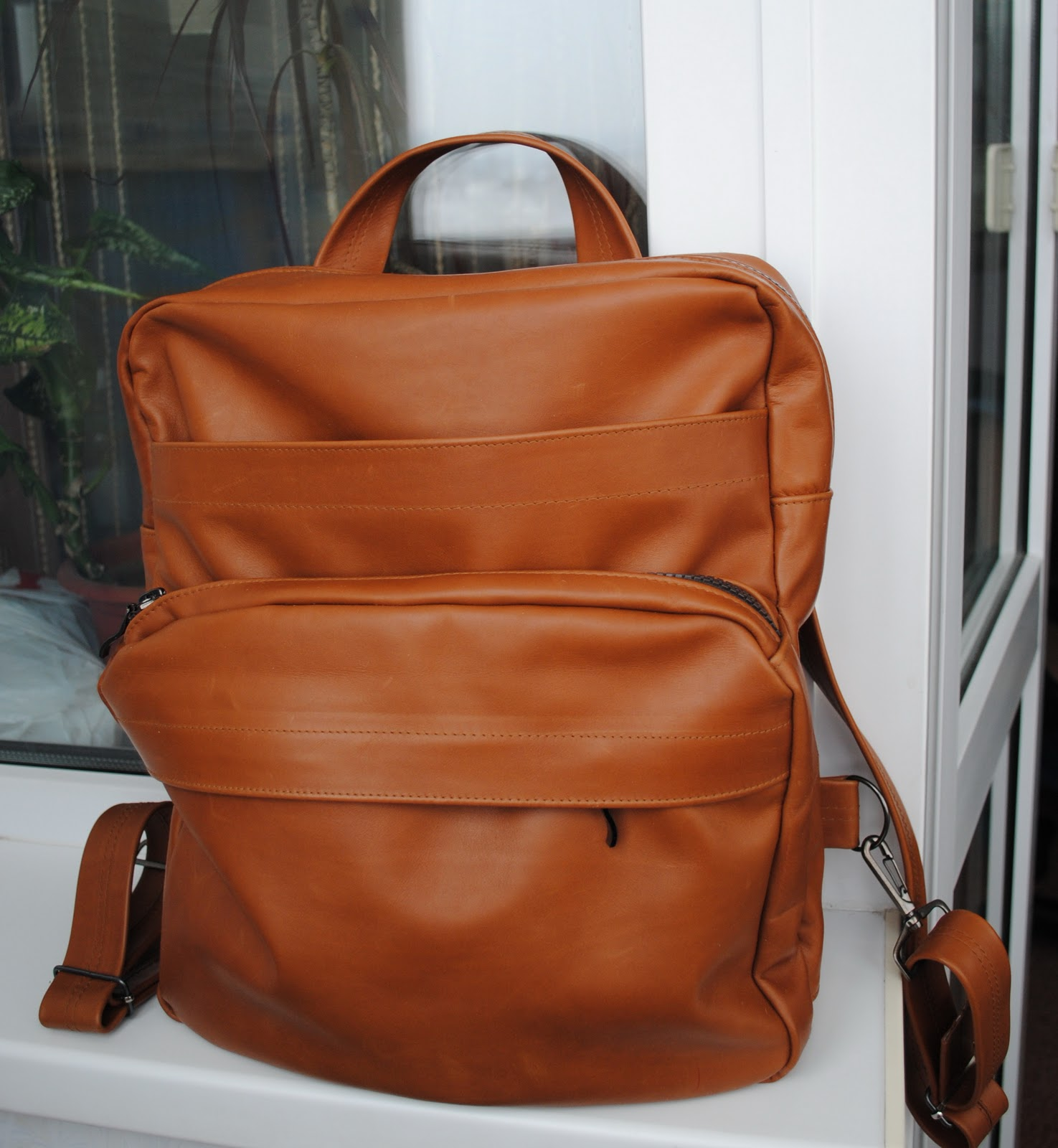Рюкзак из кожи своими руками выкройки фото