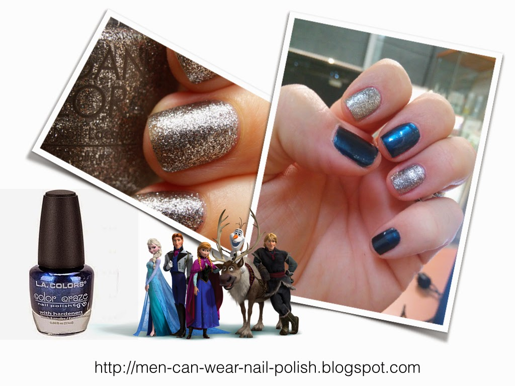 morgan taylor frozen nail polish nail art for men