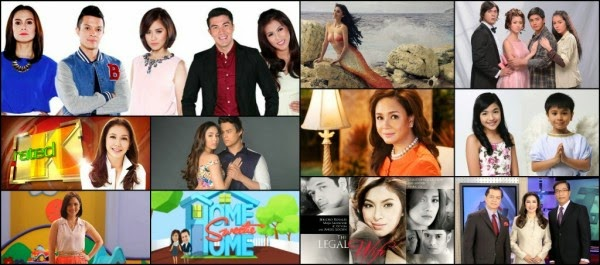 ABS-CBN sweeps Top 10 Shows in May 2014 (National TV Ratings)