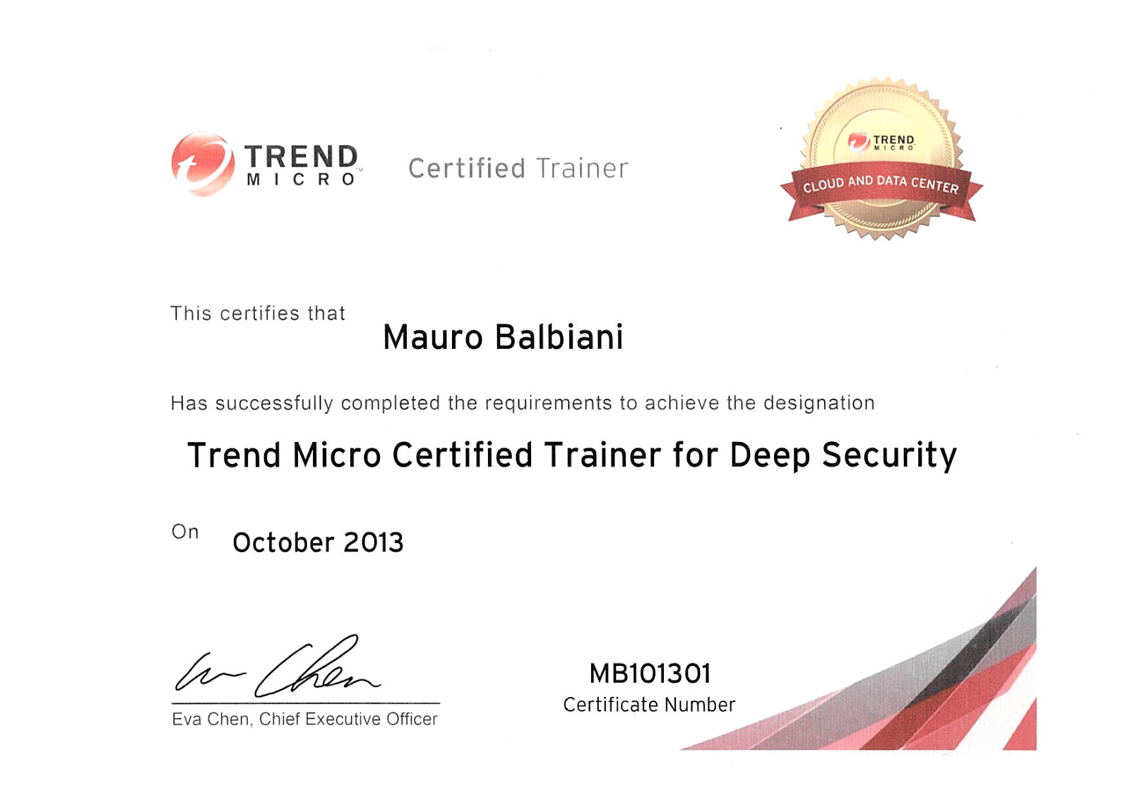 Tren Micro Deep Security Trainer