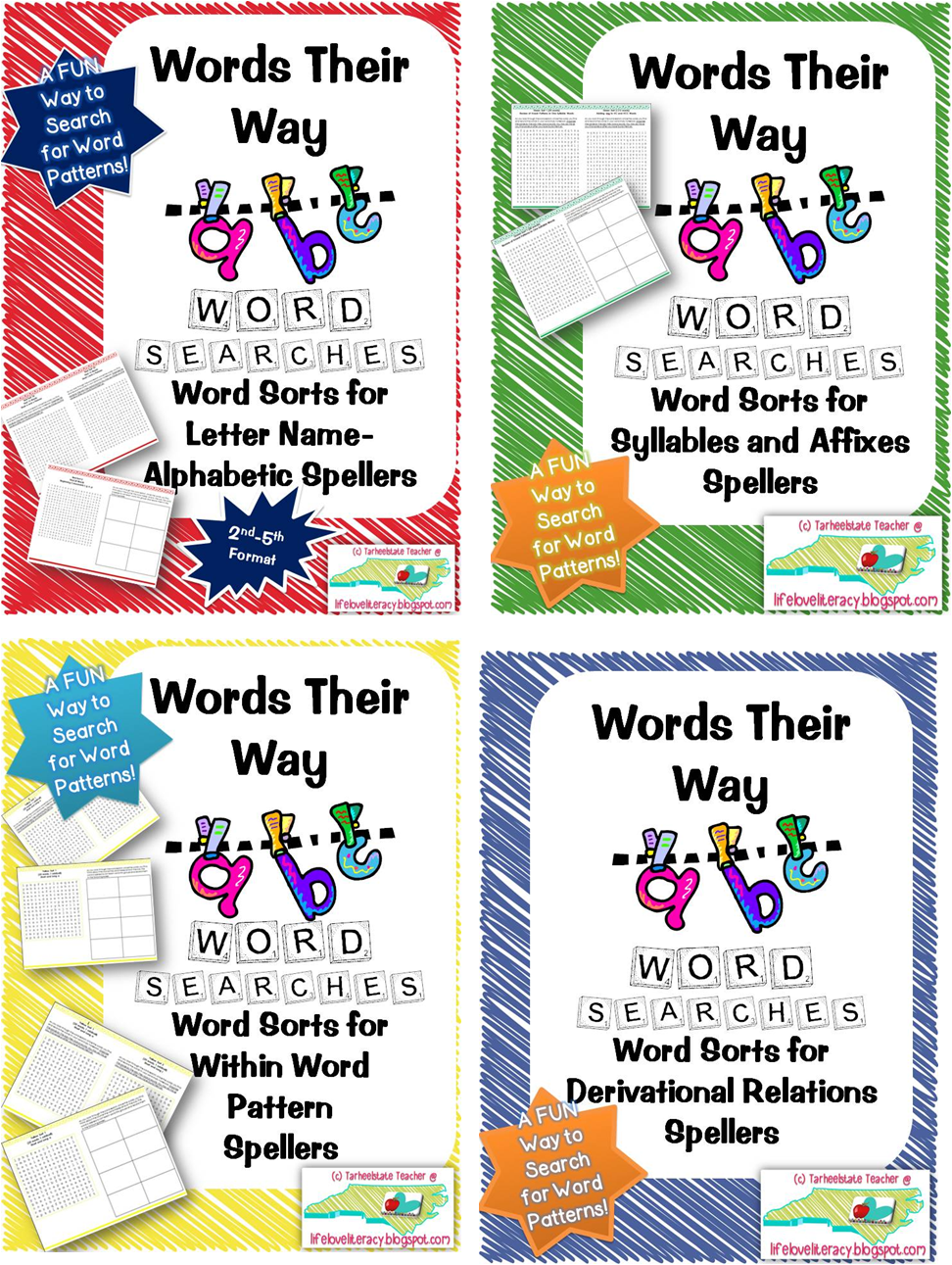 Words their way homework
