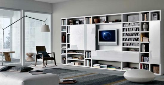 Great Ideas For Living Room Designs From MisuraEmme