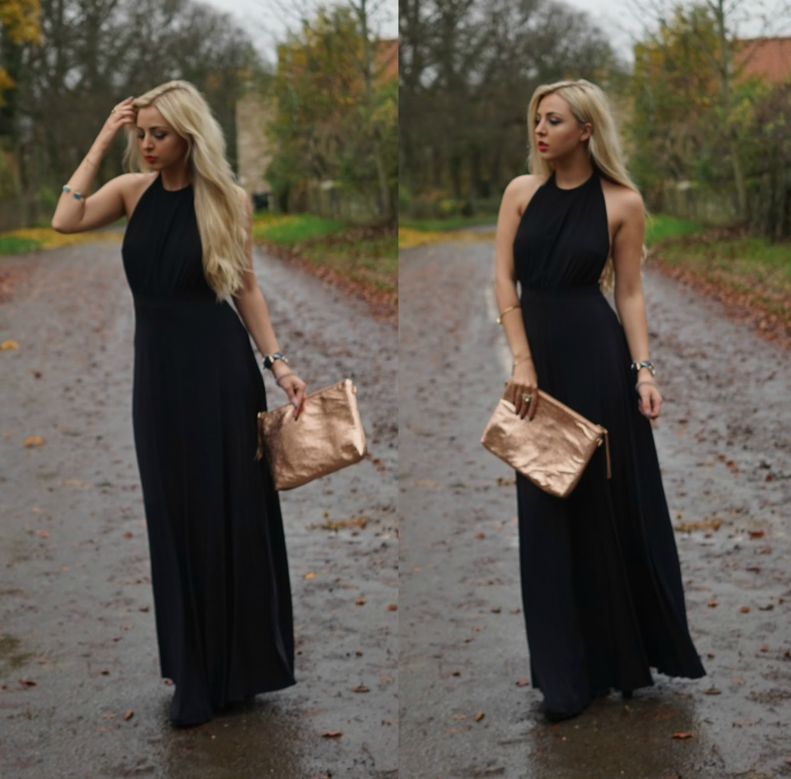 Dress up xmas party - First Up Is This Gorgeous Black Maxi Dress From Pretty Little Thing This One Is Actually From The Gorgeous Lucy Mecklenburgh S Collection And We All Know