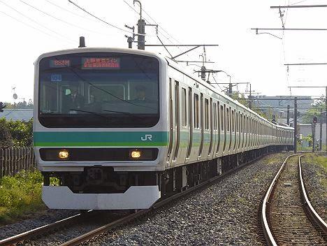 上野東京ライン 常磐・東海道線線直通 E231系