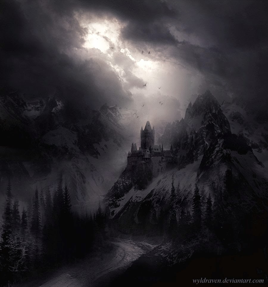 11-Transylvanian-Tales-The-Castle-wyldraven-Surreal-Night-Time-Photo-Manipulation-www-designstack-co