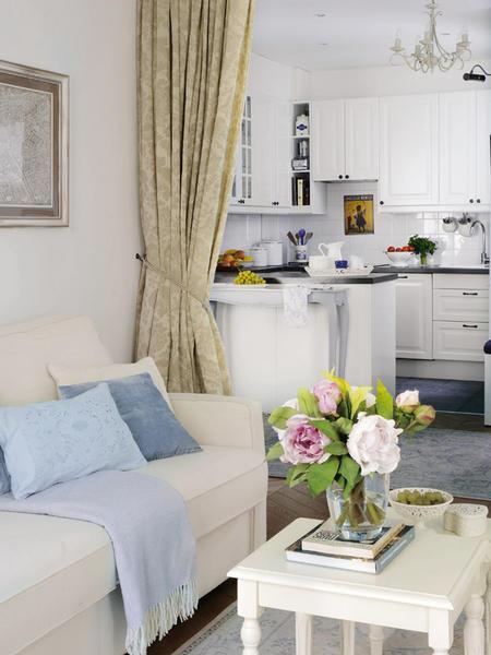 Bellart atelier decora o um mini apartamento na espanha - Mini apartamentos ...