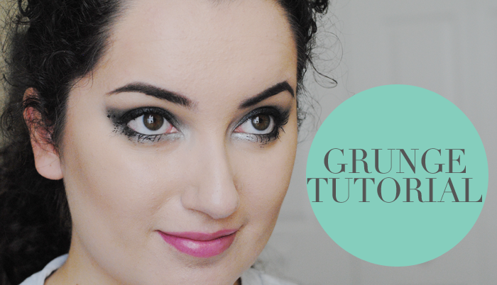 how to do grunge makeup, grunge makeup tutorial, 90s grunge inspired beauty trend