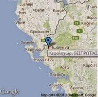 Η Γλούστα στο χάρτη της Google
