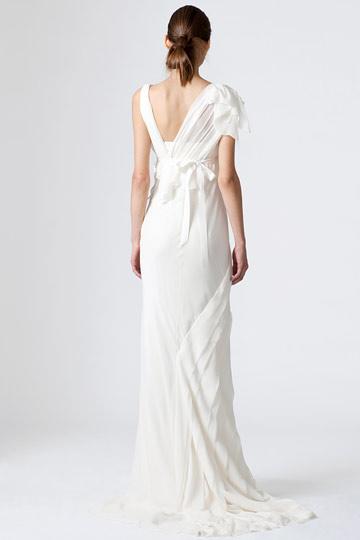 Backless wedding dresses vera wang bridal wears for Backless wedding dresses vera wang