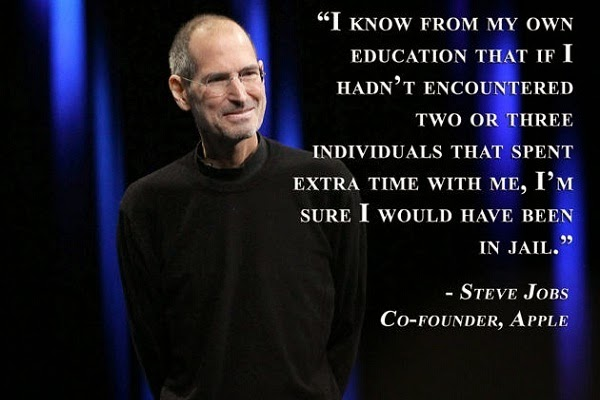 Education quotes by Steve Jobs