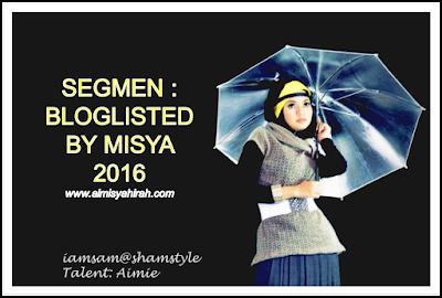 Segmen Bloglisted by Misya 2016