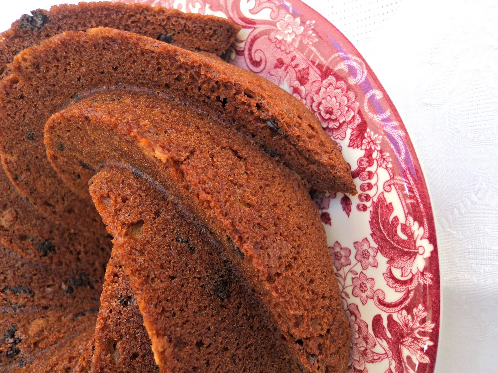 receta casera bundt cake frutas chocolate
