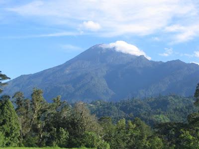 Volcán Tajamulco en Guatemala