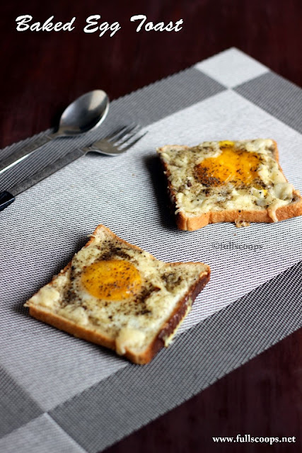 Baked Egg Toast