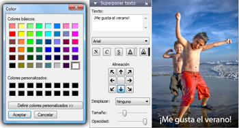 Crea presentaciones con PhotoStage