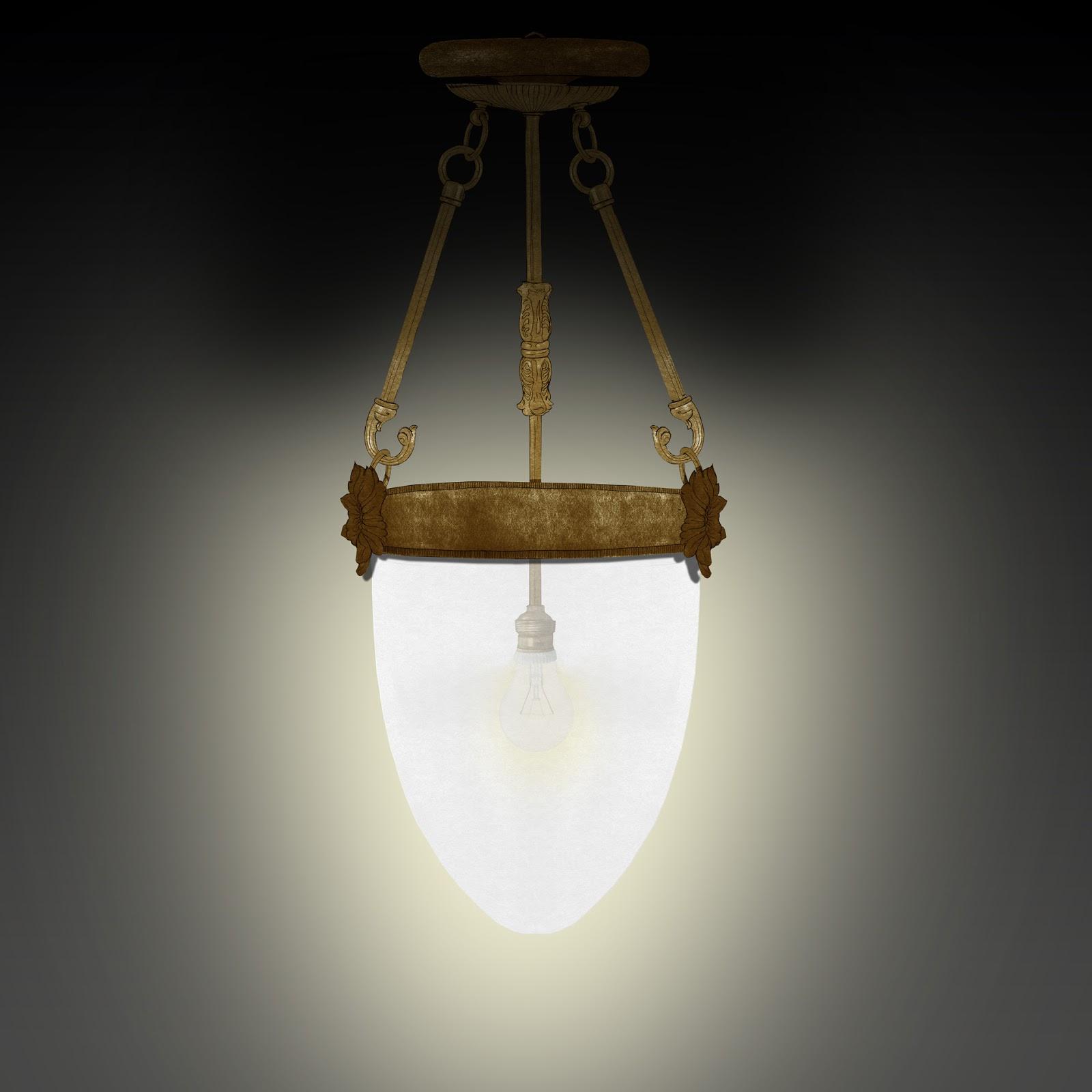 luz, luminaria,