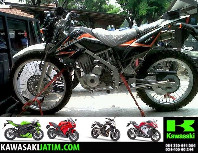 KLX 150L Orange