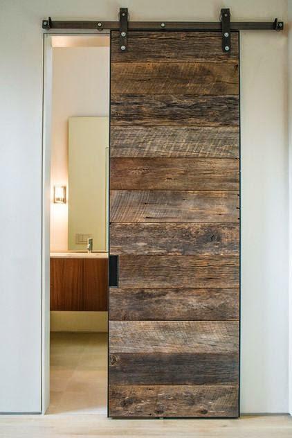 Elle esse ristrutturare un appartamento di 60 mq per un uomo for Porte in legno grezzo