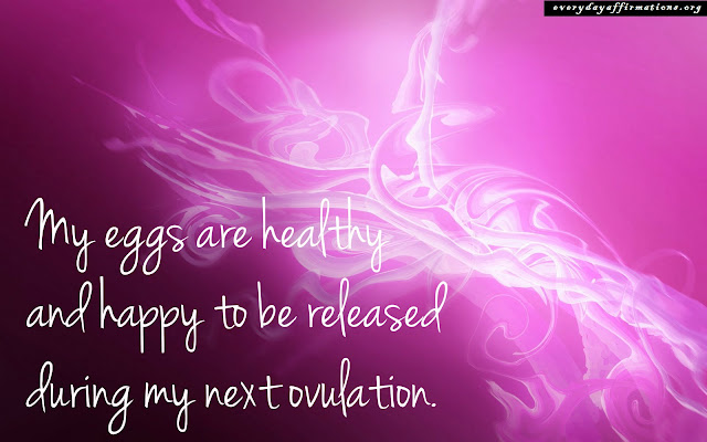 Positive Affirmations For Fertility - Physical Healing6