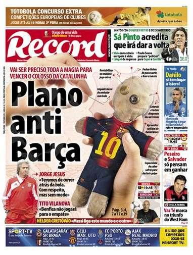 Con ¡brujería! intentarán parar a Messi en Portugal