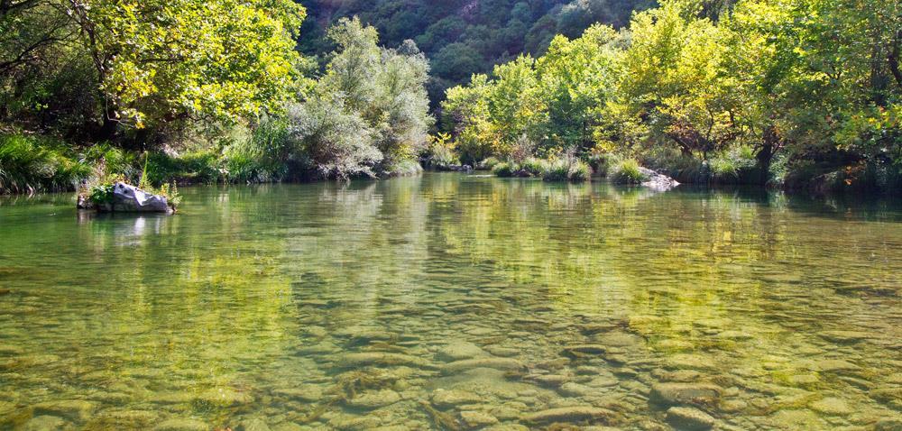 Ο Αλφειός, ένας ποταμός που ιστορείται σε πολλούς μύθους