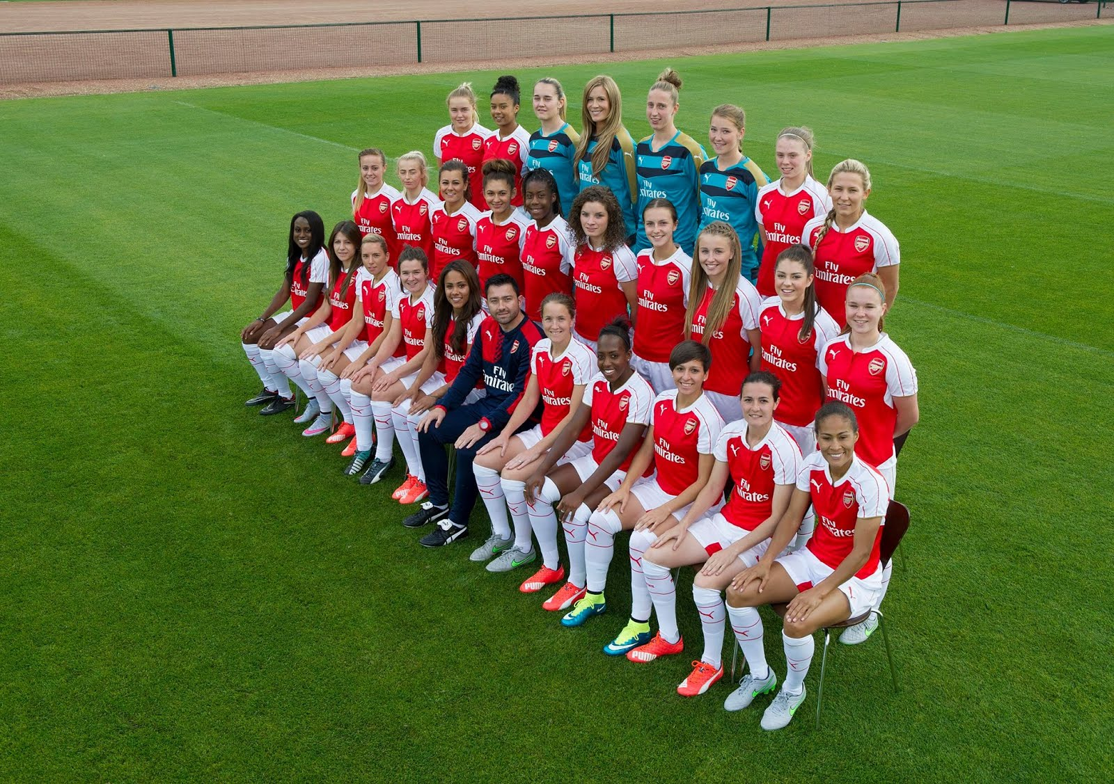 Arsenal Ladies 2015/16 Team
