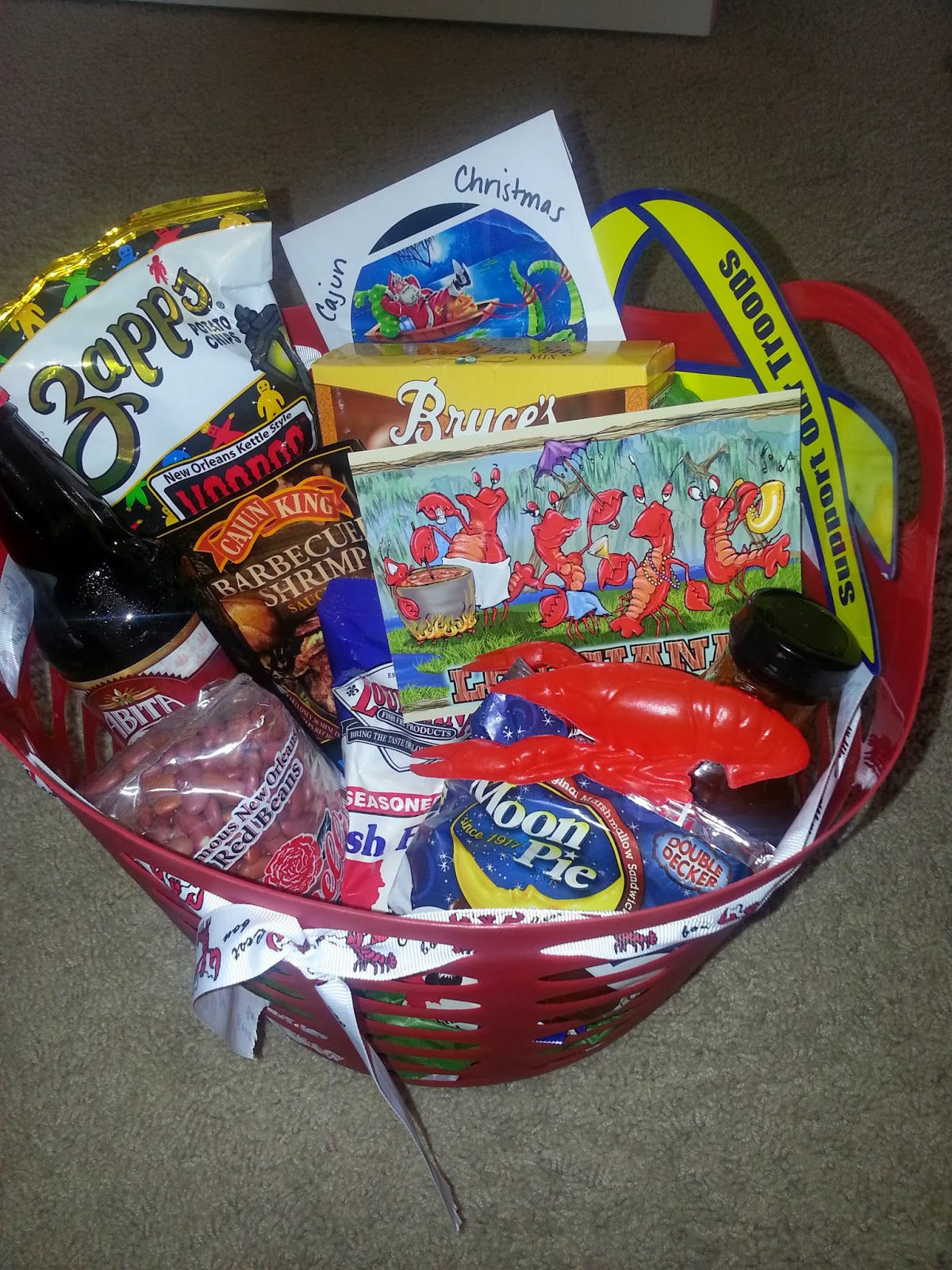 For the Love of Food: Creative Gift Ideas: Louisiana State Gift Basket