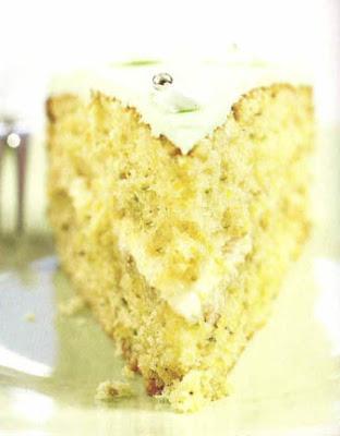 torta de pistacho cremosa