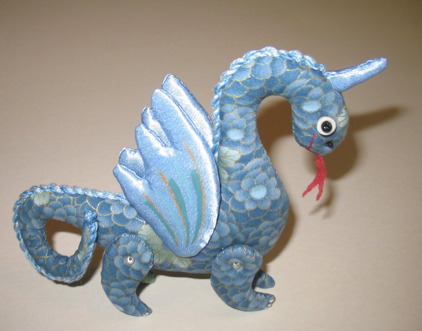 сшить игрушки дракона своими руками