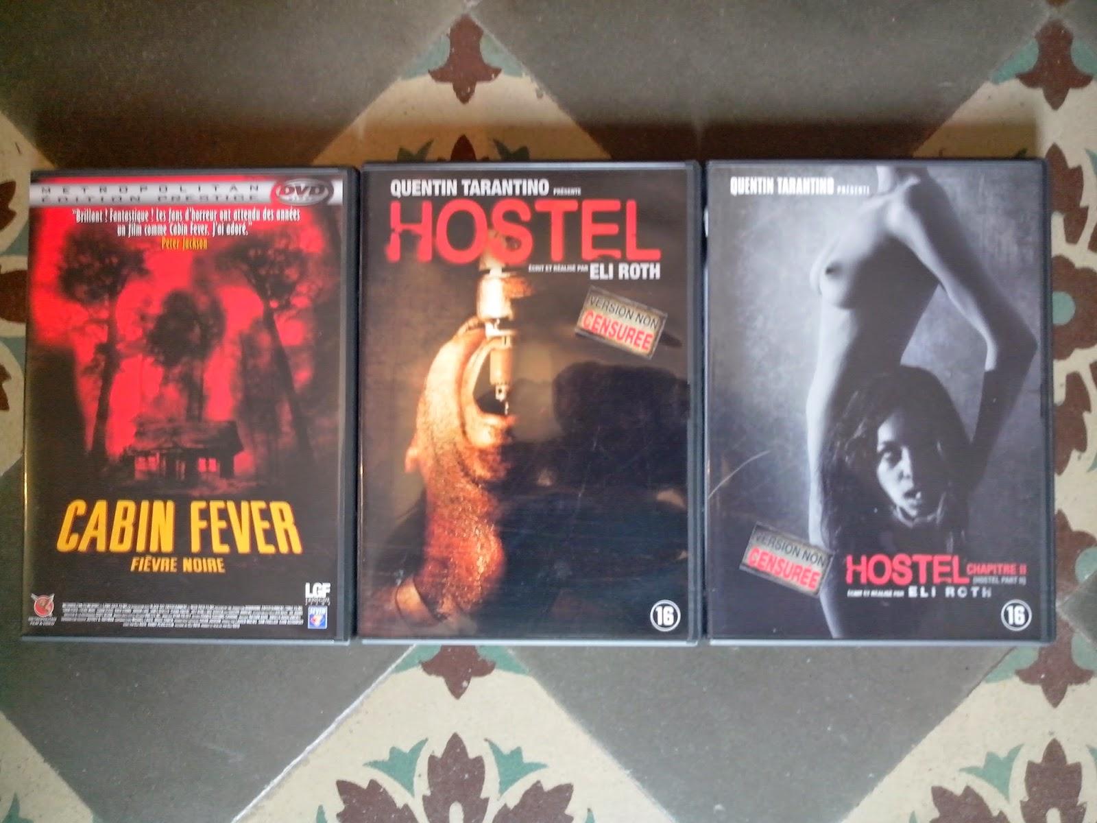 Divers DVD a vendre Hostel