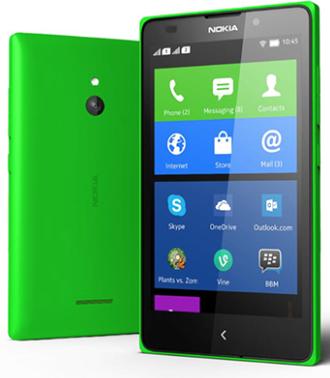 Nokia X - Green