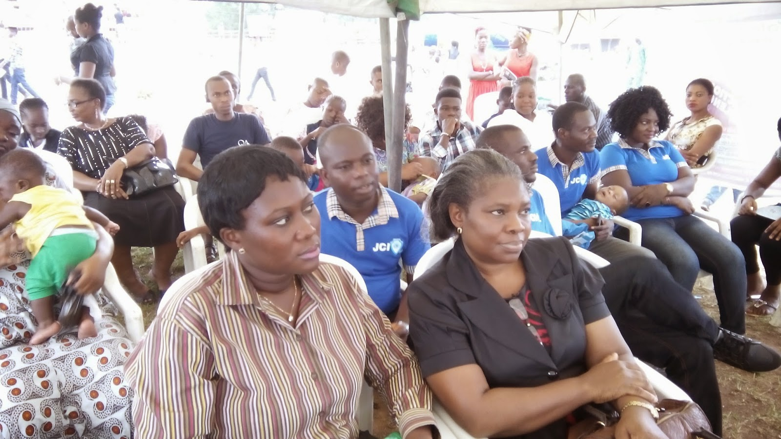 Cross section of guests