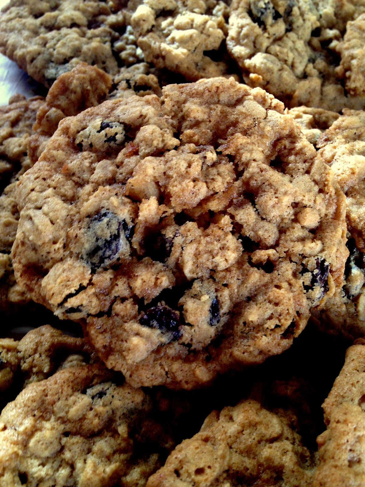 Oatmeal Raisin Cookies | Leftover Time