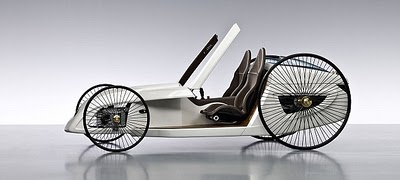 Mercedes-Benz old fashioned carriage model