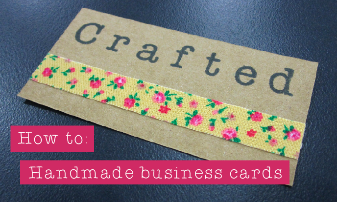 Handmade Business Cards Crafthubs