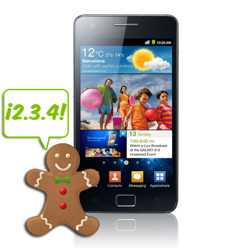 Galaxy S2 - roms Gingerbread de stock - instalacion