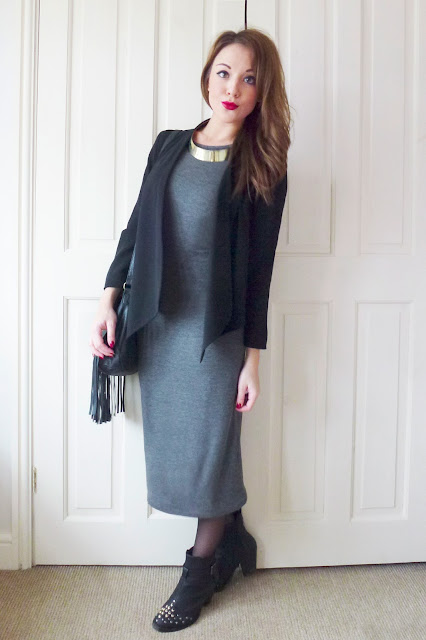 Today I'm Wearing: Primark Jersey Midi Dress