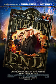 The World's End dirigida poster