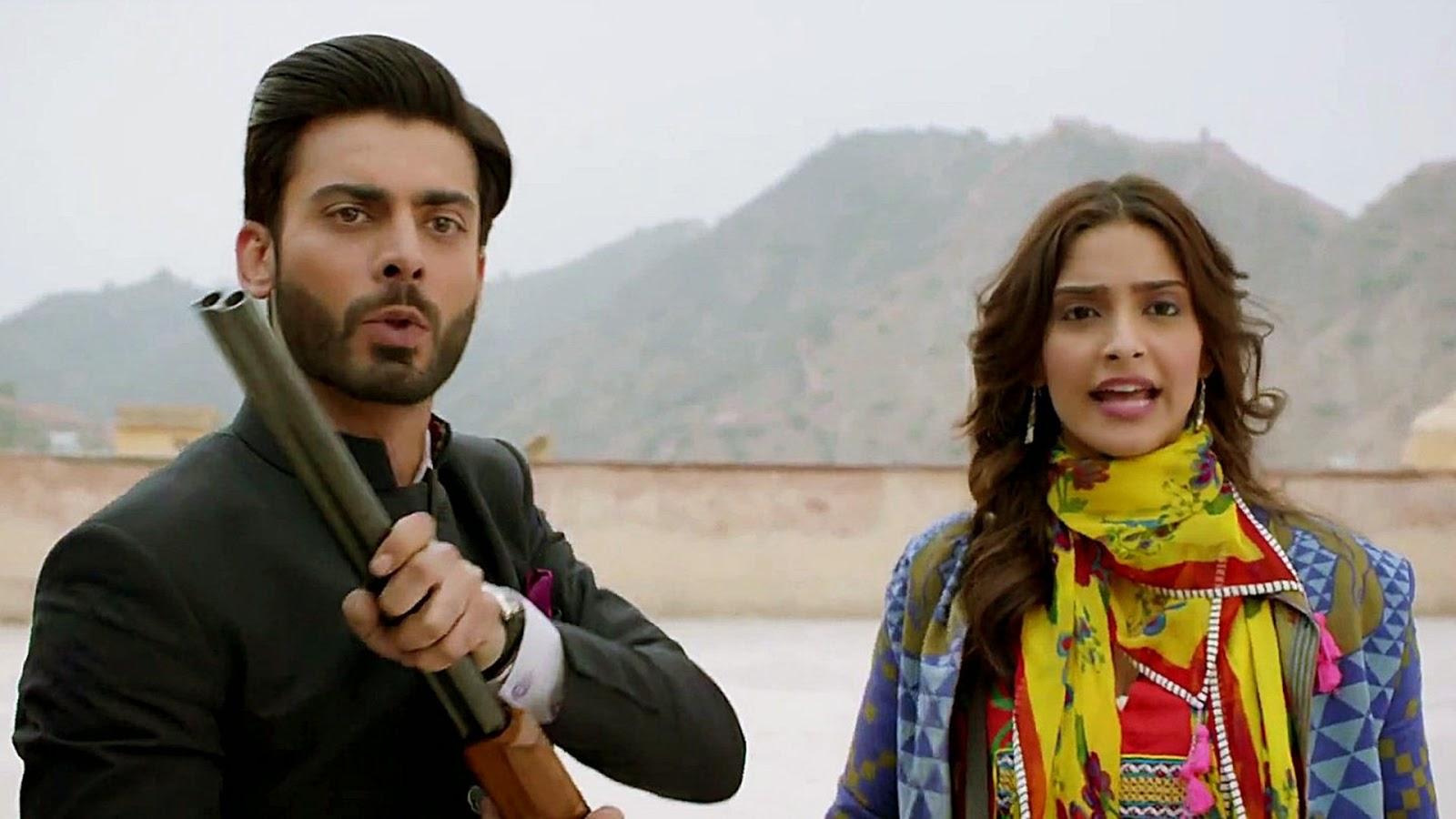 Fawad Khan and Sonam Kapoor latest images