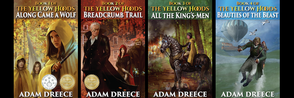 adam dreece ya book series the yellow hoods