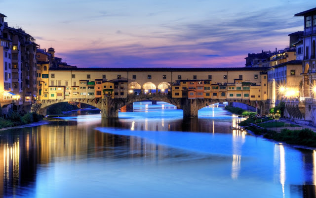 Florence Bridge in Italy