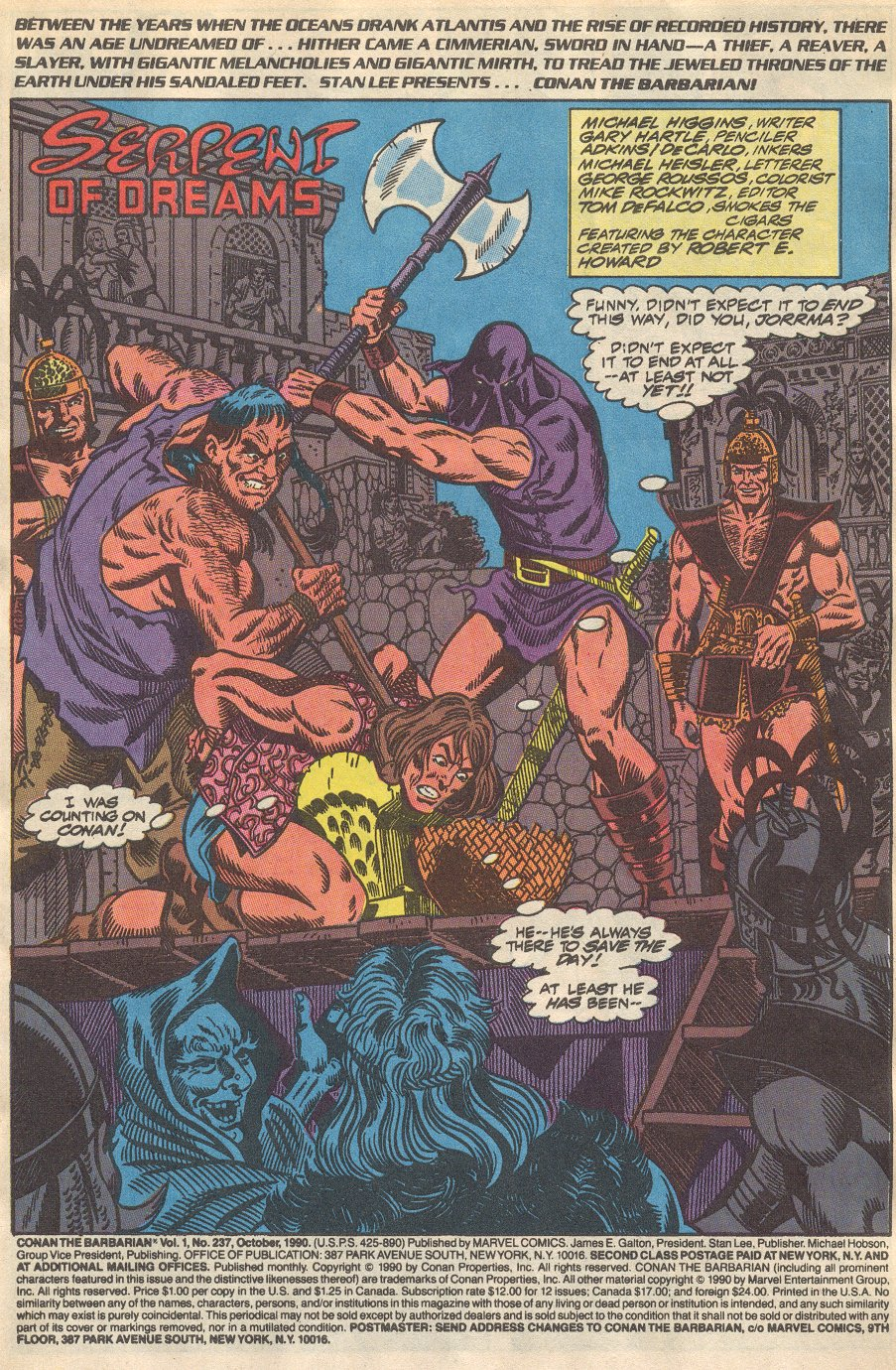 Conan the Barbarian (1970) Issue #237 #249 - English 2