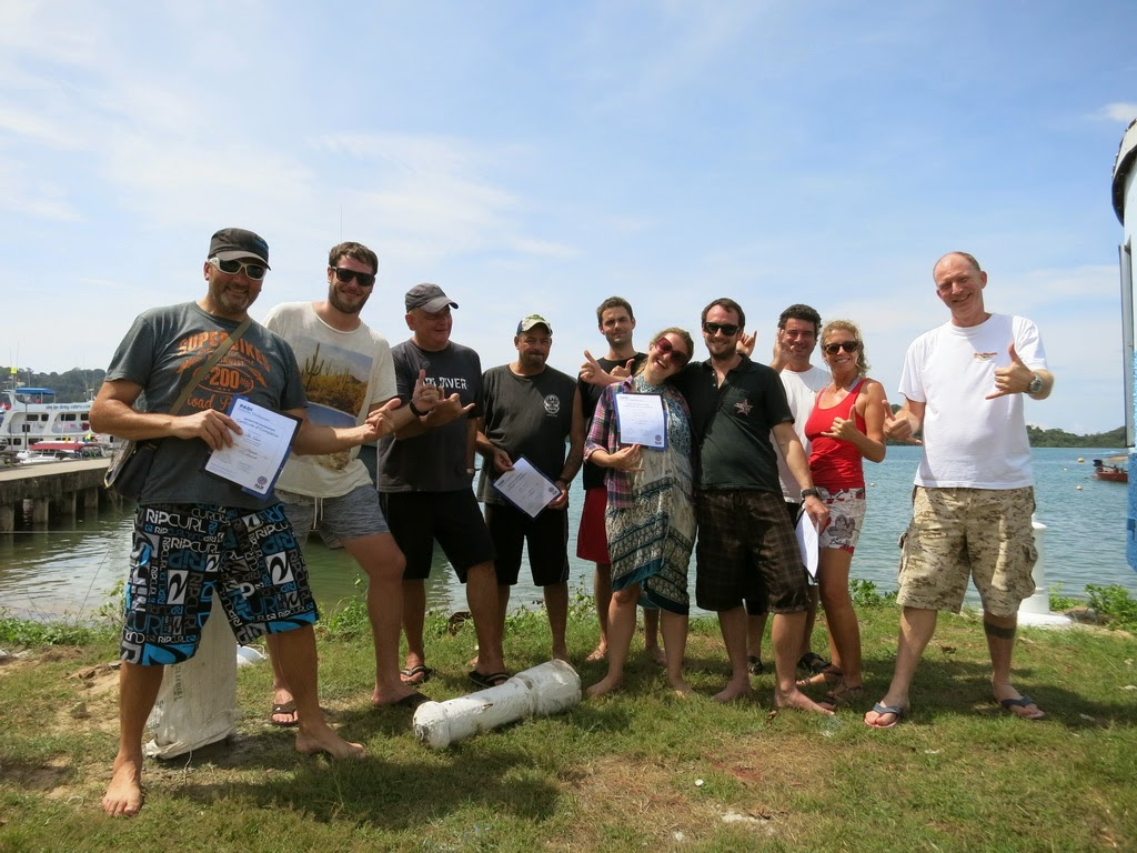PADI IE November 2014 in Khao Lak, Thailand