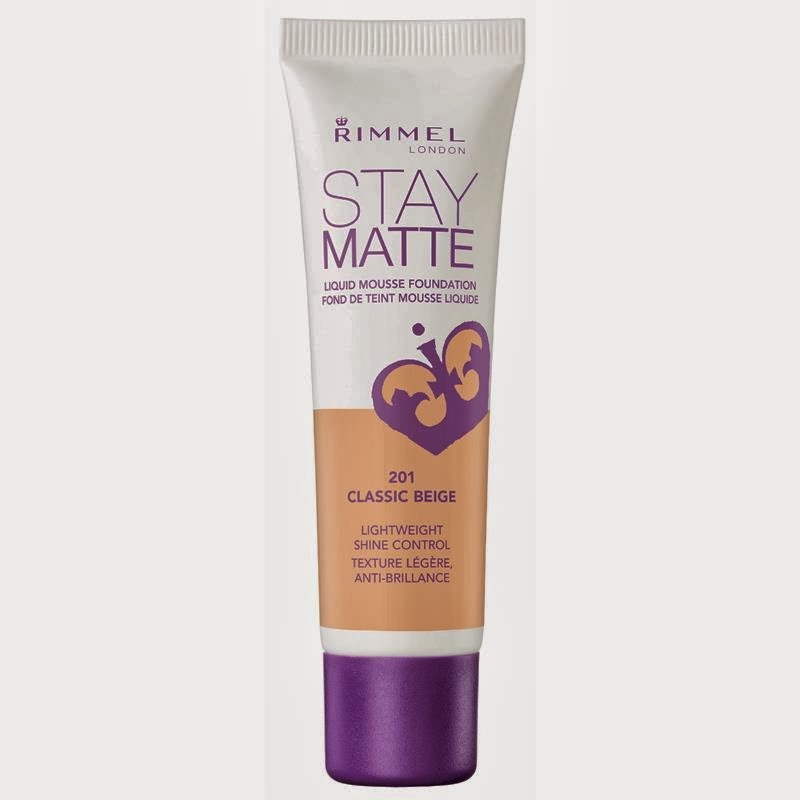 KathrynLaine: Beauty Review: Rimmel Stay Matte Foundation