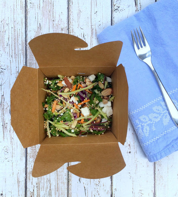 Wild Greens and Crispy Quinoa Salad | www.jacolynmurphycom