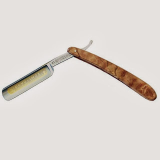 Dovo Inox Straight Razor with Olivewood Scales