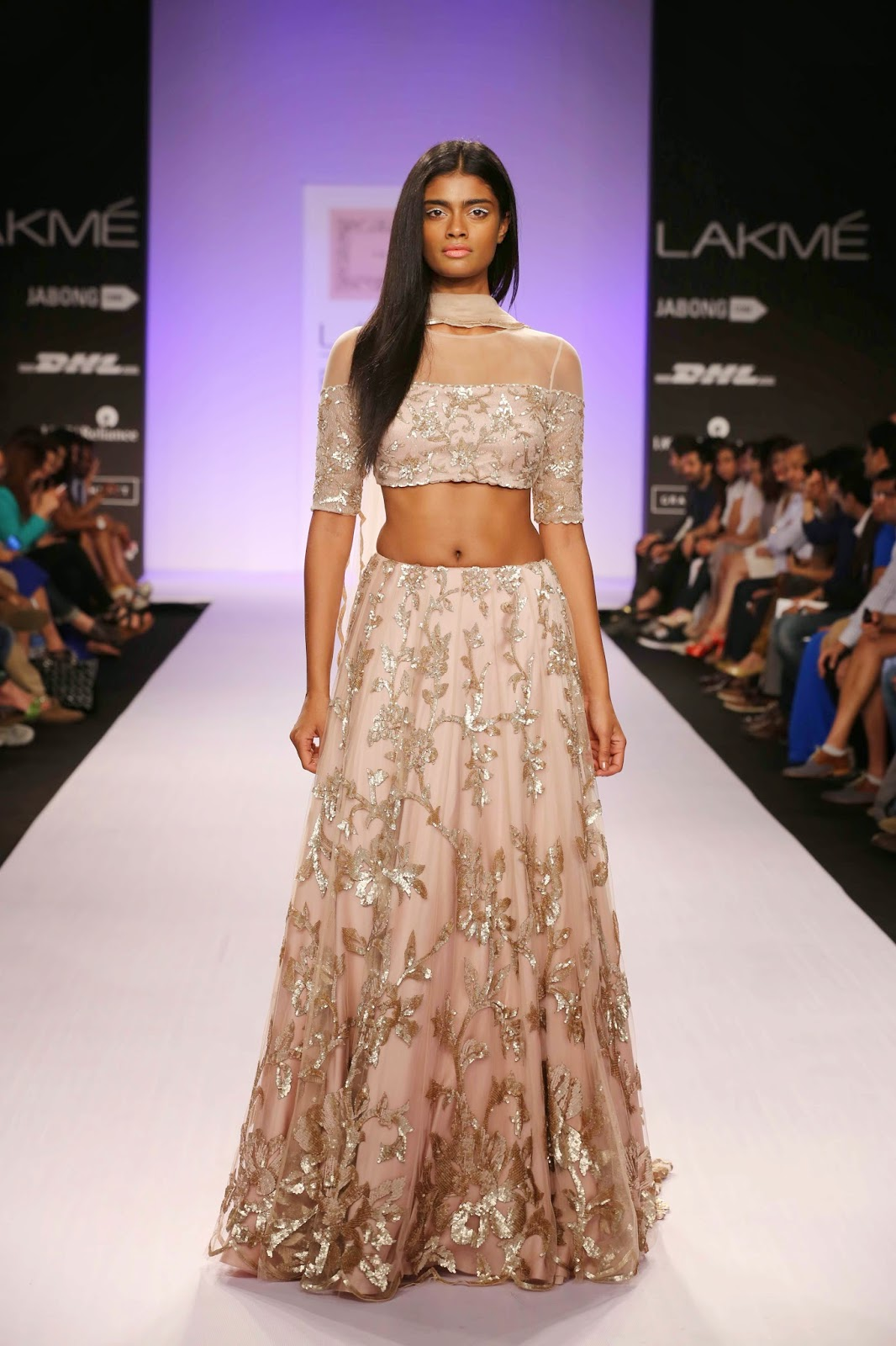 It was a collection, that one could imagine on Hollywood beauties like Ali Macgraw. Bringing the glamour of the early 1070's on to the runway at Lakmé Fashion Week Summer/Resort 2014, Shehla Khan unleashed a high octane line that was ideal for the glamorous priestesses of fashion in India as well as abroad.