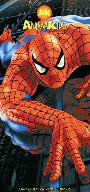 animación hombre araña
